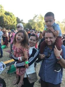 family at womad
